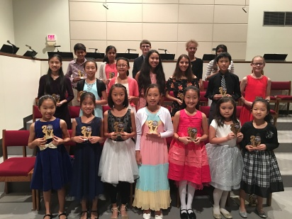 All the KMTA Students that performed at the Honors Recital.